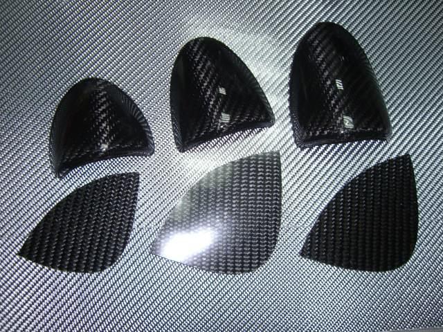 Real Carbon Fiber Center Dash Pod Covers For 2003 2005 Nissan 350z Z33 6 Pcs Kit Ebay