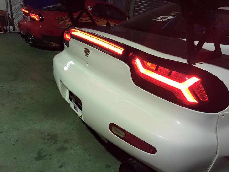 Trying to restore my Rx3 tail lights some help here guys