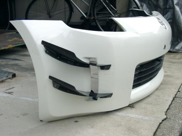 Carbon fiber Canards for Nismo V1 bumper - MY350Z.COM ...